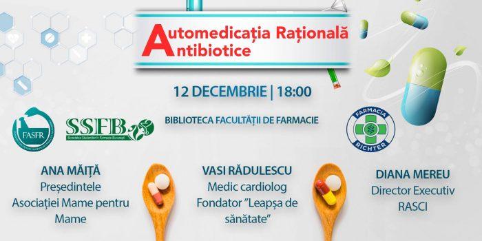 RASCI La Dezbaterea AutoMedicația Rațională, Organizată De Societatea Studenților în Farmacie București