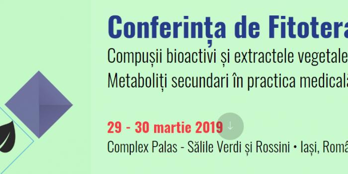 RASCI La Conferința Națională De Fitoterapie 2019