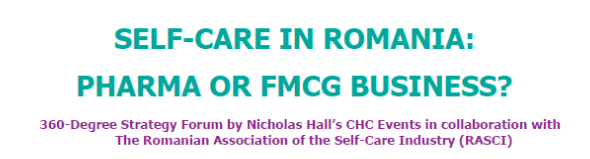 "Newsletter RASCI – ""Self-Care In Romania: Pharma Or FMCG Business?"""