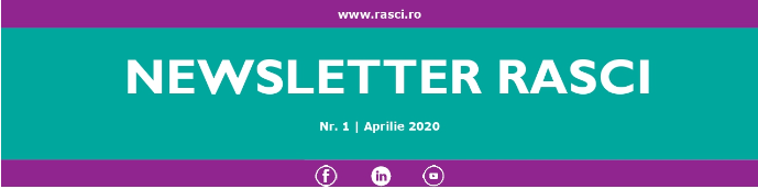 Newsletter RASCI – Nr. 1, Aprilie 2020